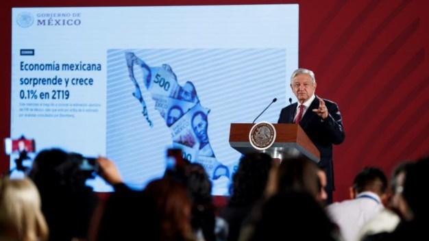 """AMLO festina alza del PIB: """"sorpresas te da la vida"""""""