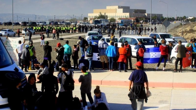 Gobierno: 1,100 migrantes habrían cruzado a EEUU