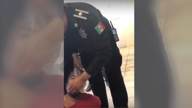 Video viral muestra tortura policial a detenido