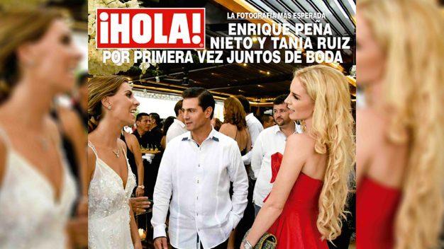 Imágenes: reaparece Peña Nieto junto a su supuesta novia