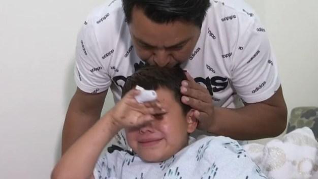 Niño hispano pierde una mano por juego pirotécnico