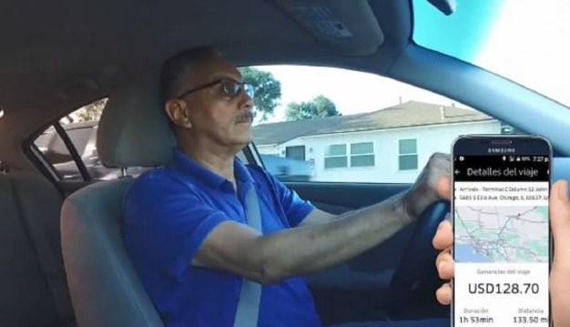 Conductor de Uber manejó siete horas, pero no recibió pago c