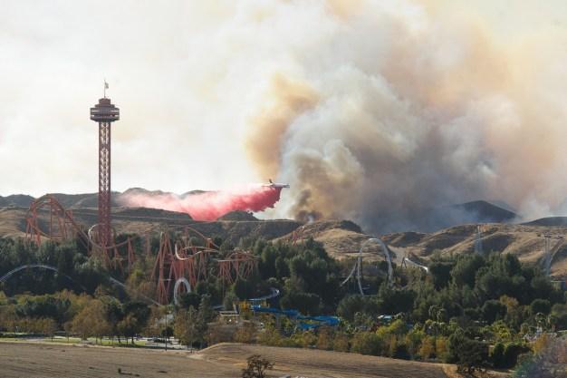 Incendio en Santa Clarita ya está 96 por ciento contenid