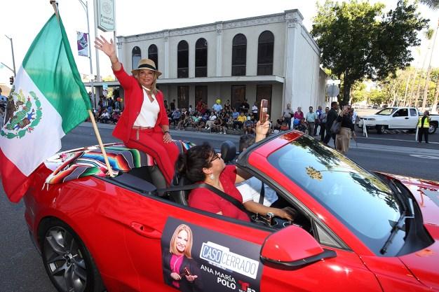 La doctora Polo presente en las Fiestas Patrias de Santa Ana