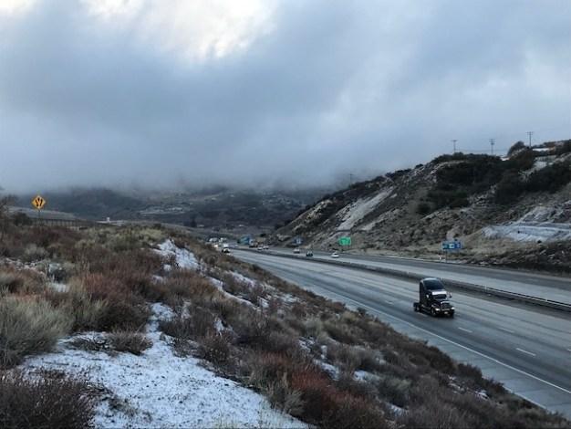 Tormenta fría golpeará hoy al sur de California