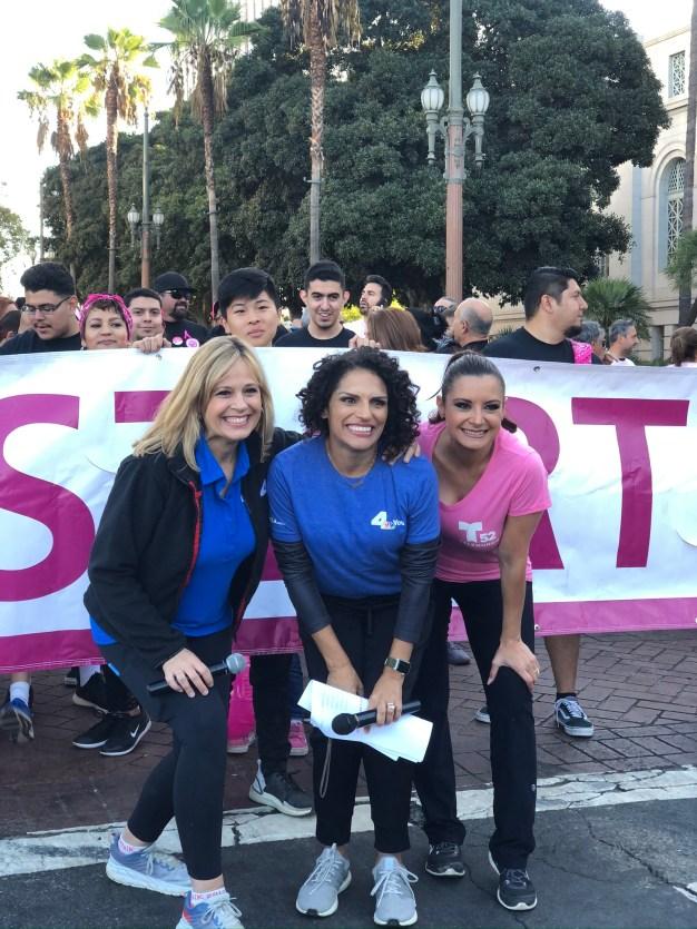 Telemundo 52, NBC4 y La Sociedad Americana Contra el Cancer caminan con orgullo
