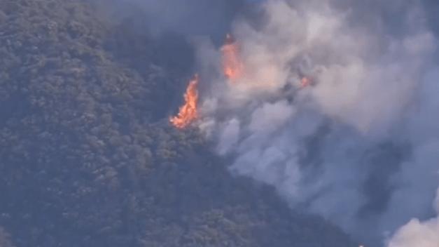 Contención de incendios Saddleridge al 72%