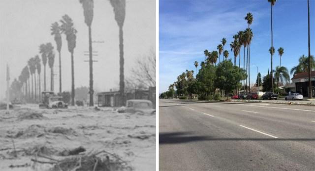 Desbordamiento del río Los Ángeles: una mirada al pasado y presente