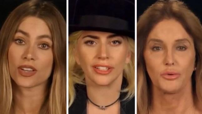 Celebridades graban video por víctimas de Orlando