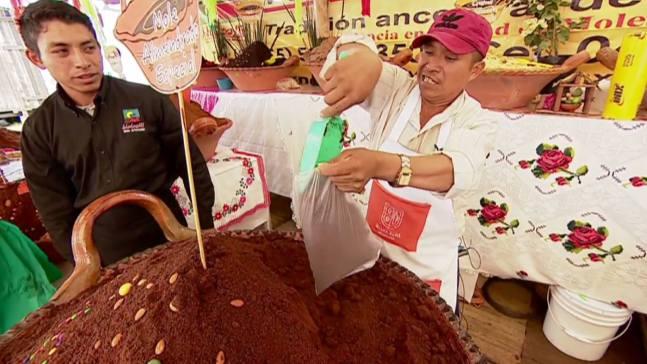 Mole, fusión de sabores que deleita al paladar