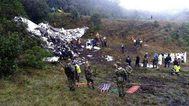 Llegan restos de piloto del avión de Lamia a ciudad amazónica boliviana