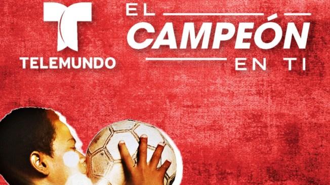 """NBCUniversal Telemundo Enterprises Lanza La Campaña """"El Campeon En Ti"""" Para Empoderar a Los Jovenes Latinos Por Medio Del Deporte"""