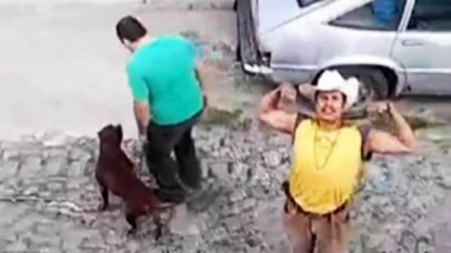 Dos arrestados por ataque brutal a perra