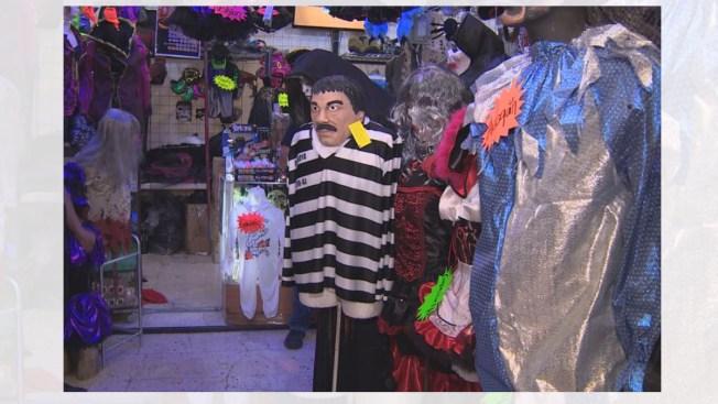 """Disfraz de """"El Chapo"""" causa furor en México"""