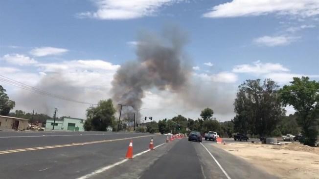 Incendio Vandegrift en Camp Pendleton contenido al 70%