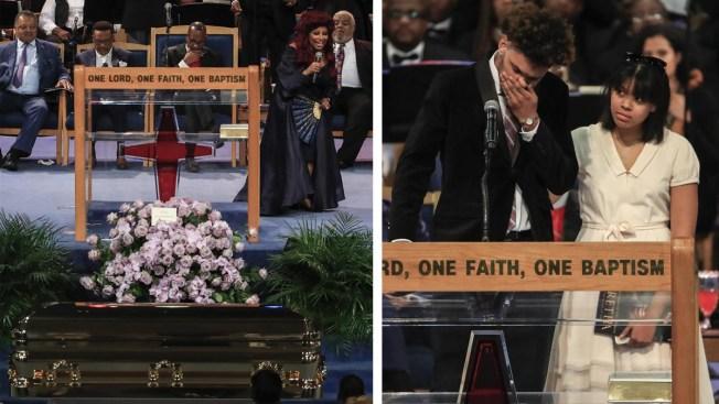"""Estrellas y amigos despidieron a la """"Reina del Soul"""". Aretha Franklin ... 0ab51f75843"""