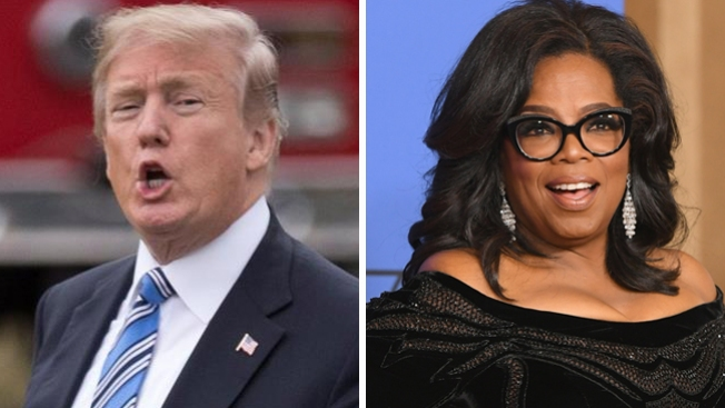 Trump ataca y reta a Oprah Winfrey