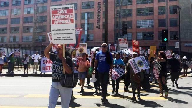 American Apparel reafirma presencia en L.A.