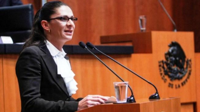 Ana Guevara confronta a titular del deporte olímpico