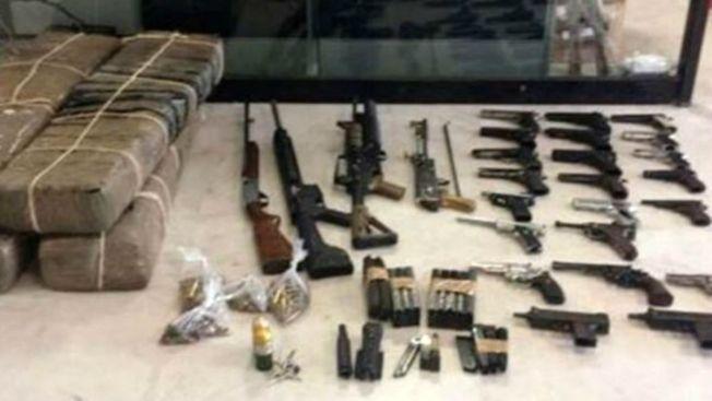 Decomisan armas y 60 kilos de cocaína en Tamaulipas