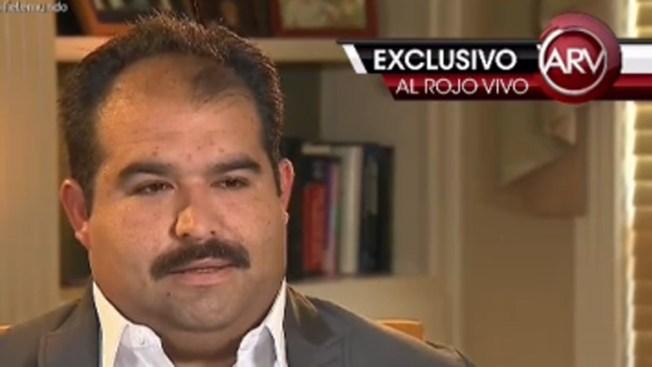 Dice que Larry Hernández lo amenazó de muerte