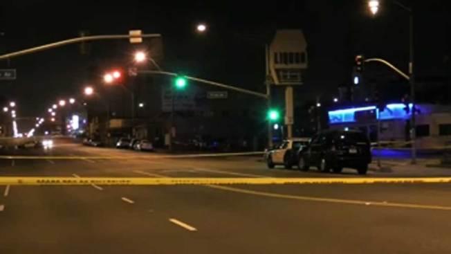 Investigan muerte a balazos en Long Beach