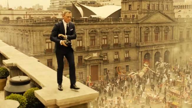 "Explosiva apertura de ""Spectre"" con México"