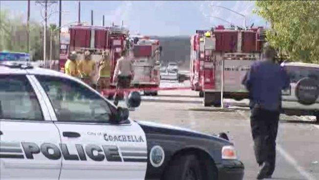 Bajo investigación incendio en mezquita de Coachella