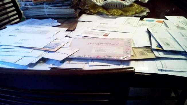 Indignación por correo en la basura