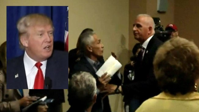 Trump ordena sacar a Jorge Ramos de evento