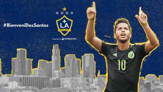 LA Galaxy contrata a Giovani Dos Santos
