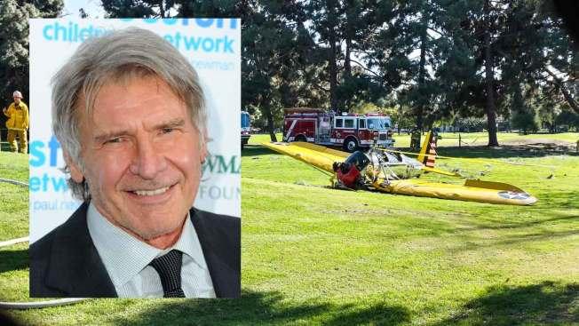 Investigan accidente aéreo de Harrison Ford