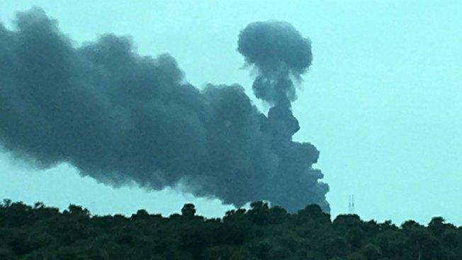 Explota cohete espacial Falcon 9 en Cabo Cañaveral