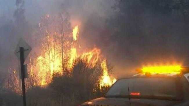 Aumenta a cinco la cifra de muertos por incendio