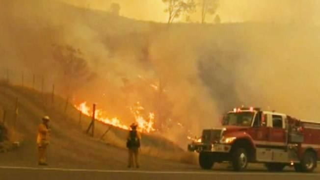 Alerta máxima en CA por numerosos incendios