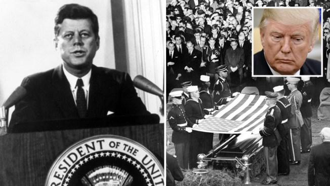 Trump aprobará revelar archivos secretos de la muerte de Kennedy