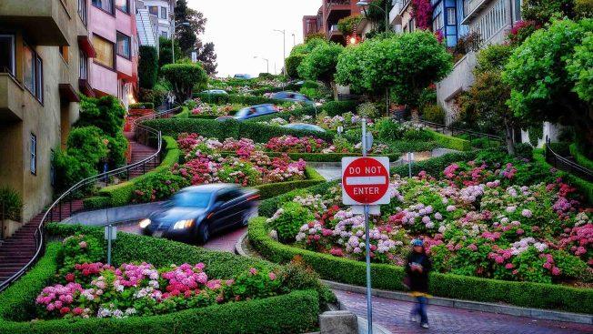 Aprueban medida que permitiá cobro por transitar por famosa Lombard Street en San Francisco