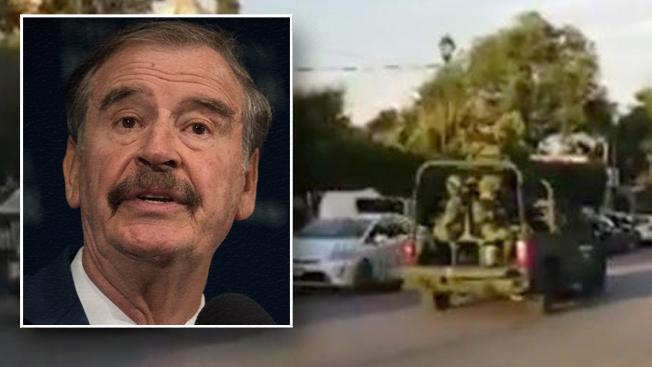 México: expresidente Vicente Fox asegura que grupo armado allanó su casa