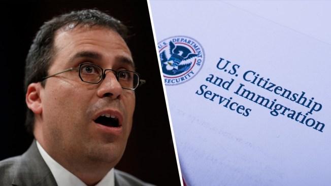 Otra vacante: renuncia el jefe de USCIS  tras petición del presidente Trump