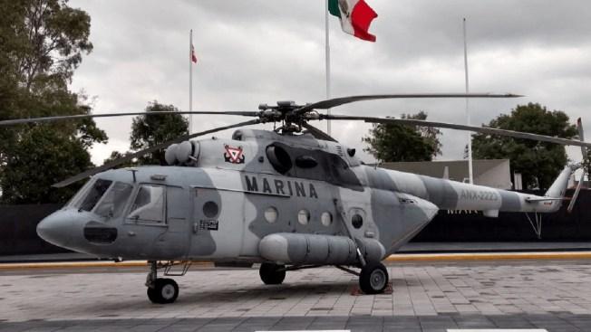 Se desploma helicóptero de la Marina con 5 personas