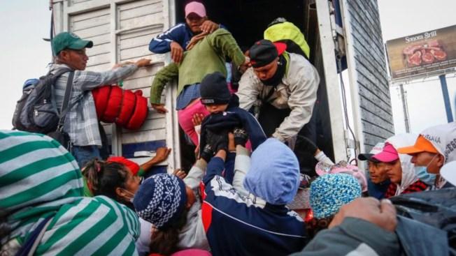 Crisis climática empuja a miles de centroamericanos al éxodo