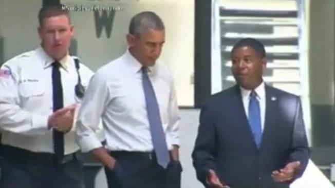 Obama hace visita histórica a prisión federal