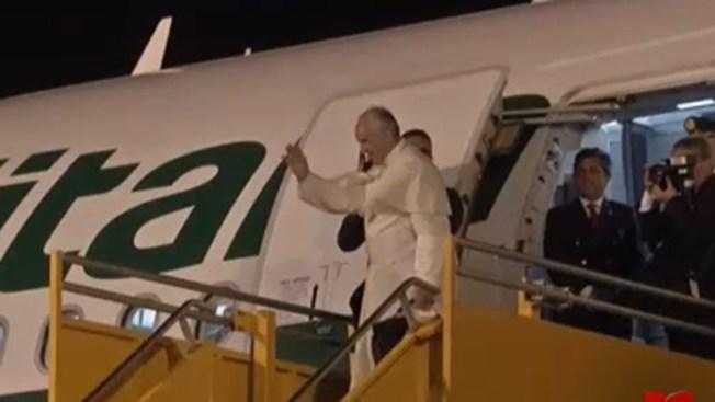 El Papa Francisco cierra su gira y regresa a Roma