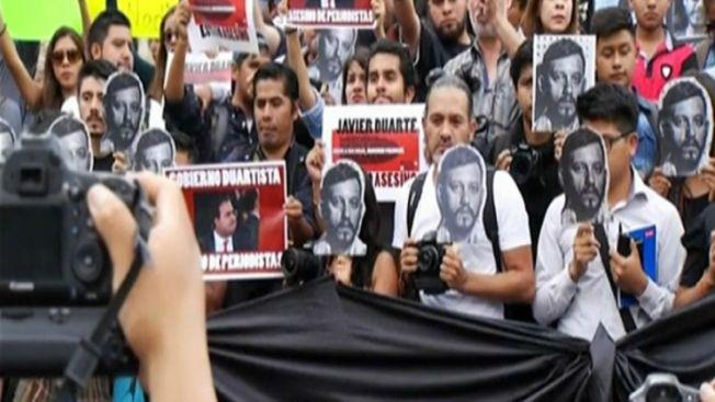 Periodistas del mundo piden garantías en México