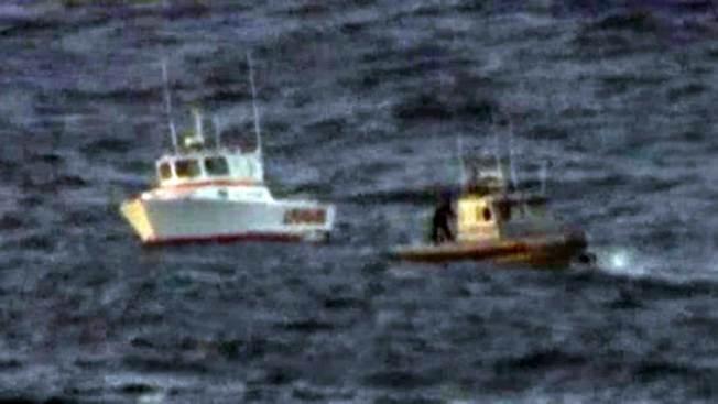 Pescadores a punto de morir en Long Beach