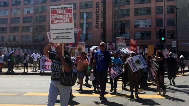 Polémica y protestas rodean a American Apparel