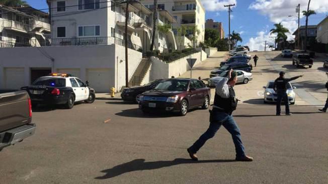 Arrestan a hombre que abrió fuego en San Diego