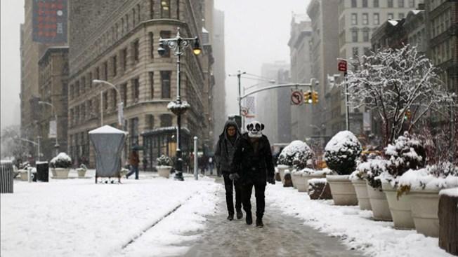 Dos muertos por tormenta invernal