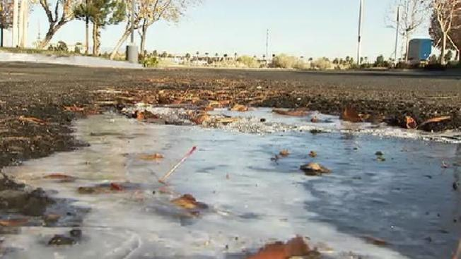 Frío en el Sur de California