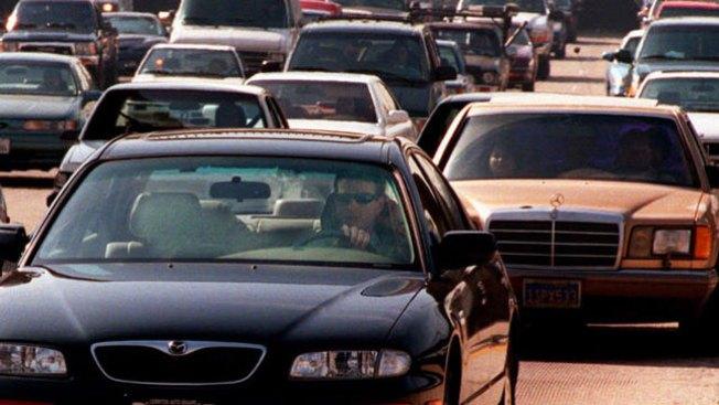 Pesadilla de tráfico en autopista 210